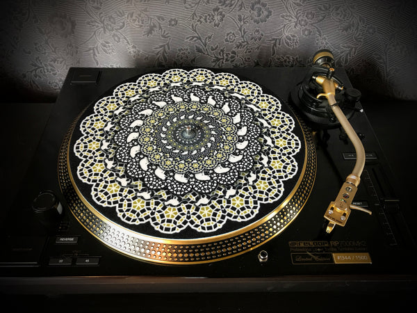 "Zoetrope Felt Turntable Slipmat ""Supercat 1"""