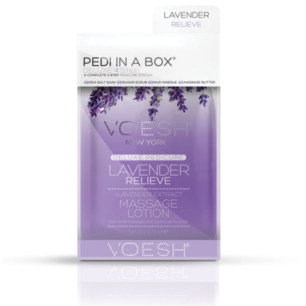 Pedi In A Box - Voesh Lavender Relieve