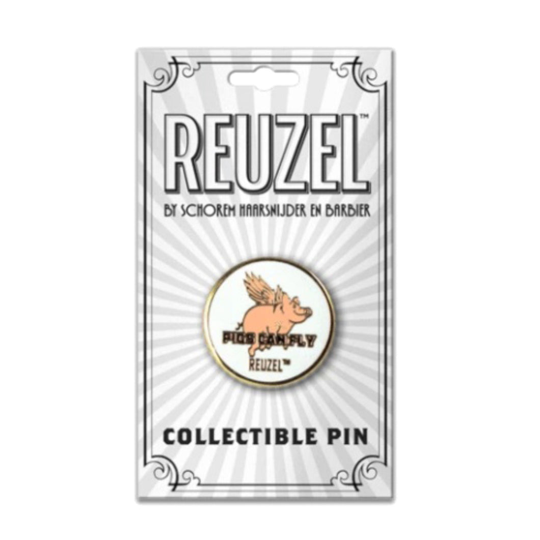 Reuzel Enamel Pin :: Pigs Can Fly