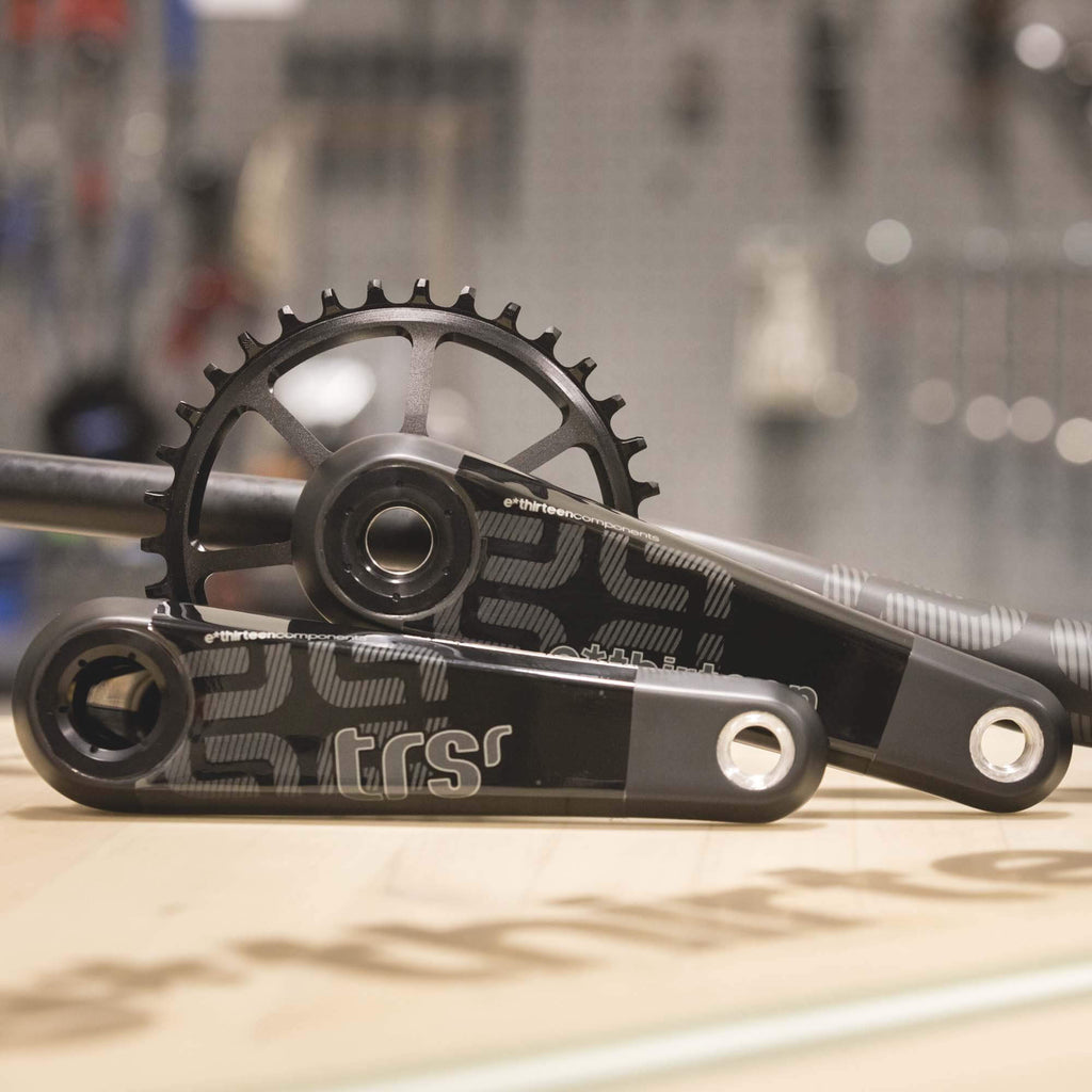 E*Thirteen TRS Race Carbon Crankset - Gen4