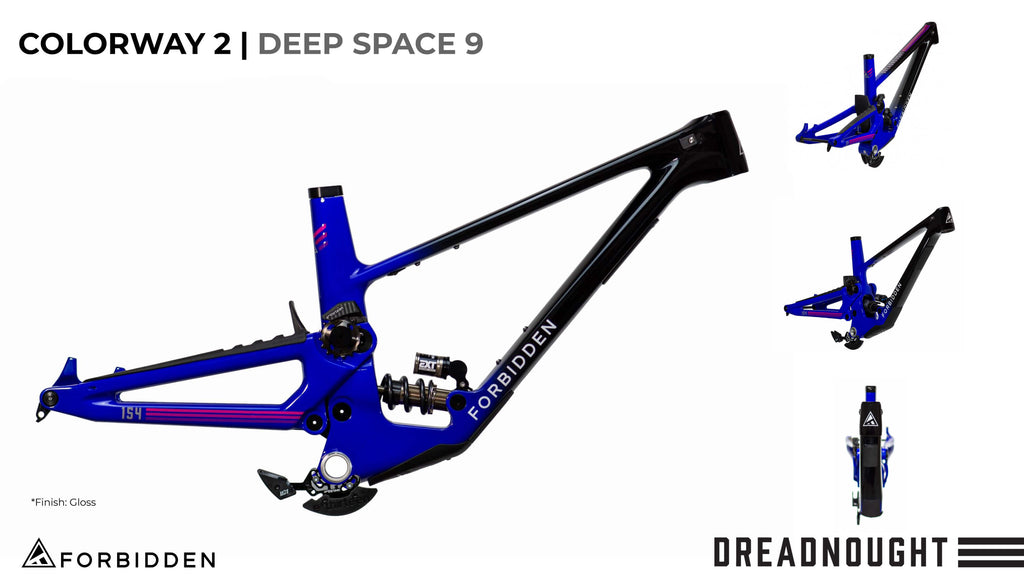 "Forbidden Dreadnought 29"" - Frameset"