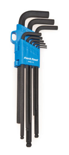 Park Tool TWS-1 L-Shaped Torx Compatible Wrench Set With Holder-New