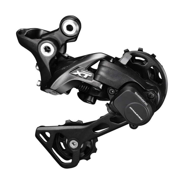 Shimano Deore XT M8000 Medium Cage Rear Derailleur 11-speed - The PM Cycles - Singapore | Fidlock - Forbidden Bike