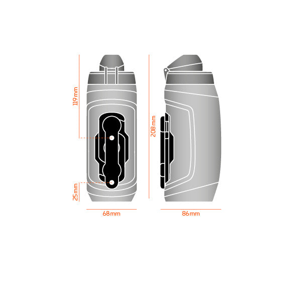 Fidlock Magnetic Twist 590ml Bottle Set