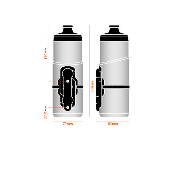 Fidlock Twist 600ml Bottle Set - Replacement - The PM Cycles - Singapore | Fidlock - Forbidden Bike