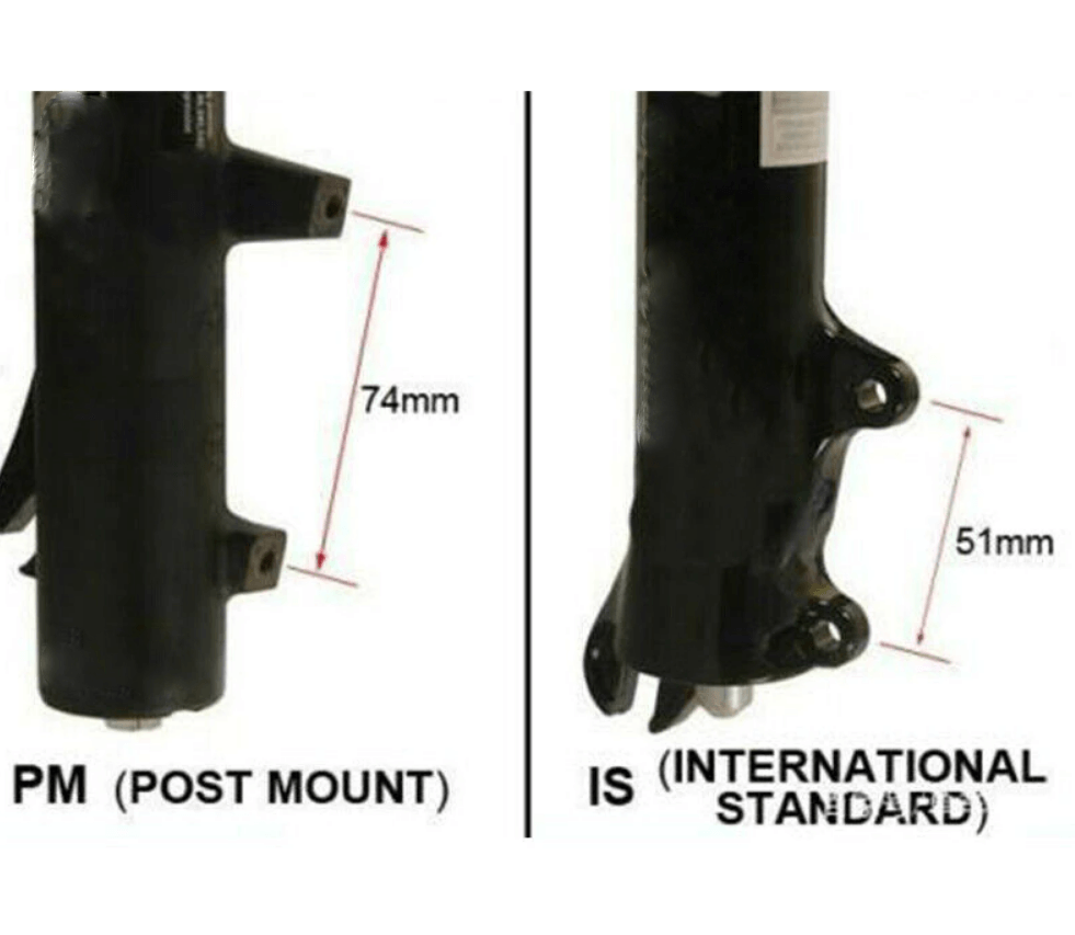 Shimano SM-MA R180P/S Disc Brake Adapter - 180mm (IS Mount)
