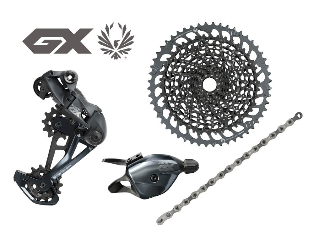 MY2021 Sram GX Eagle Groupset Upgrade Kit 52T Lunar - 12 Speed