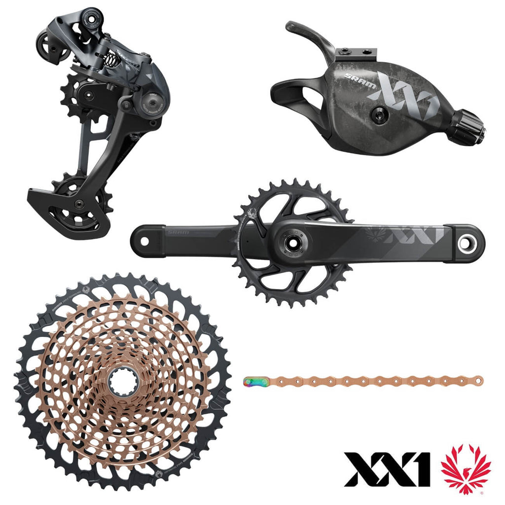 MY2021 Sram XX1 Eagle DUB Boost 10-52T Groupset - 12 Speed