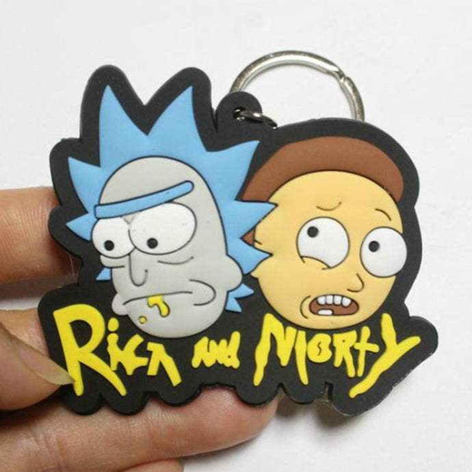 Rick and Morty Keychain - Just Like Morty