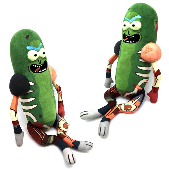 Pickle Rick Plush Stuffed Toy (45cm) - Just Like Morty
