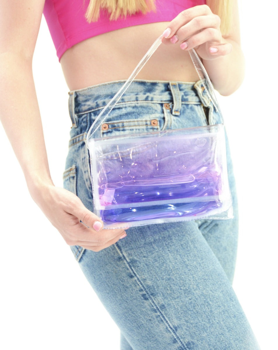 Liquid Mini Purse - Purple