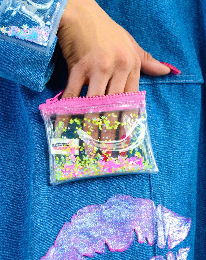 Liquid Glitter Coin Purse - Unicorn Dreams