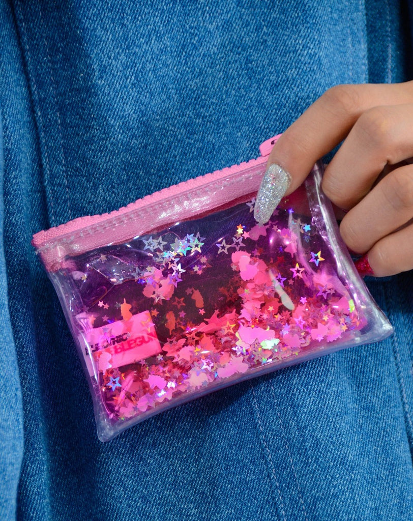 Liquid Glitter Coin Purse - Sparkling Unicorn