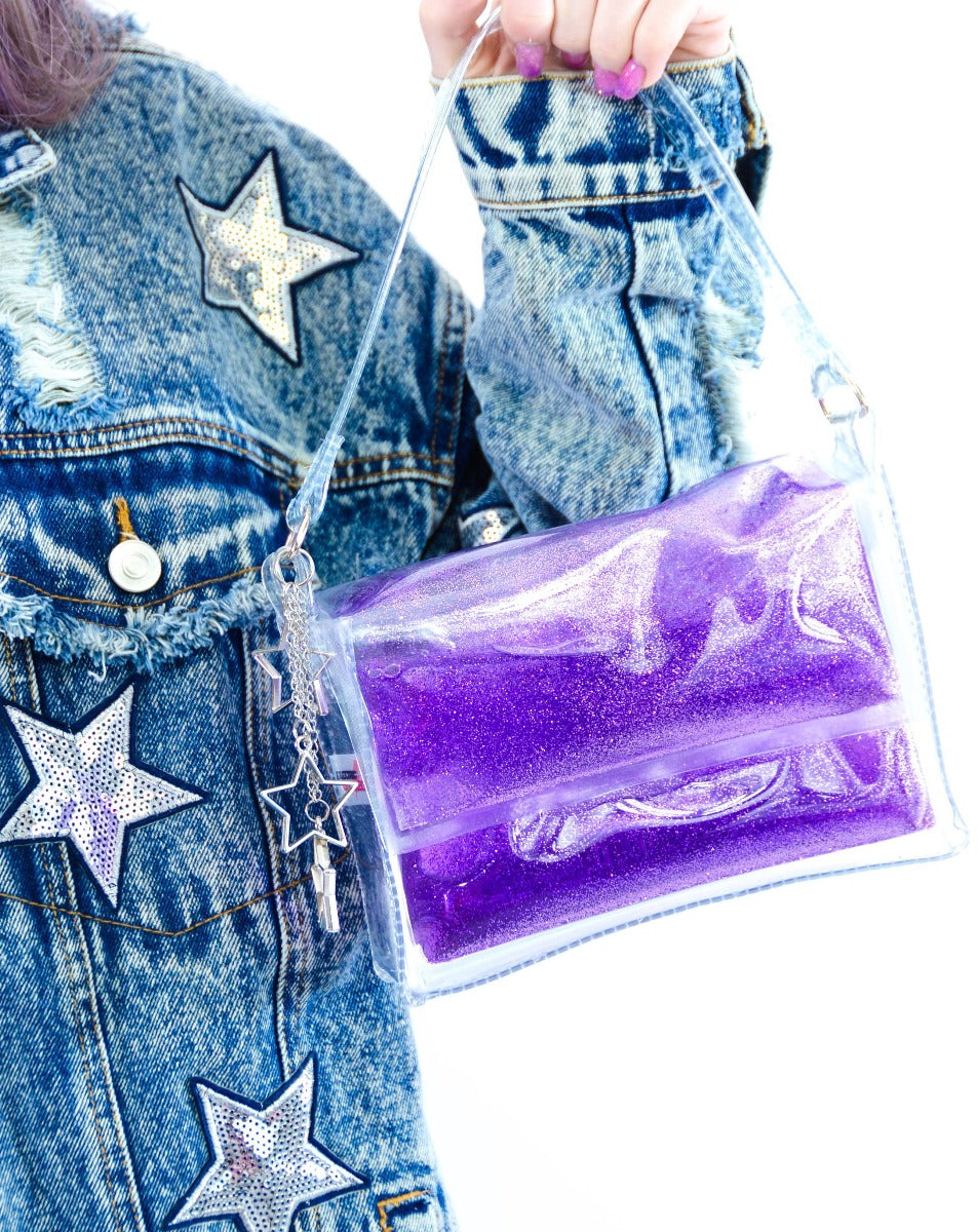 Glitter Goo Mini Purse - Moonlight - Electric Bubblegum