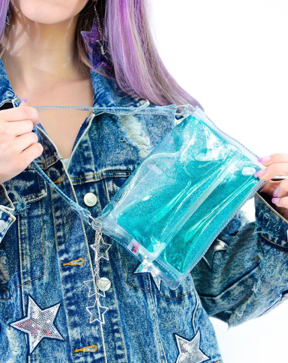 Glitter Goo Mini Purse - Twilight - Electric Bubblegum