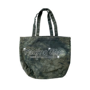 Star Logo Tote Bag - Washed Black