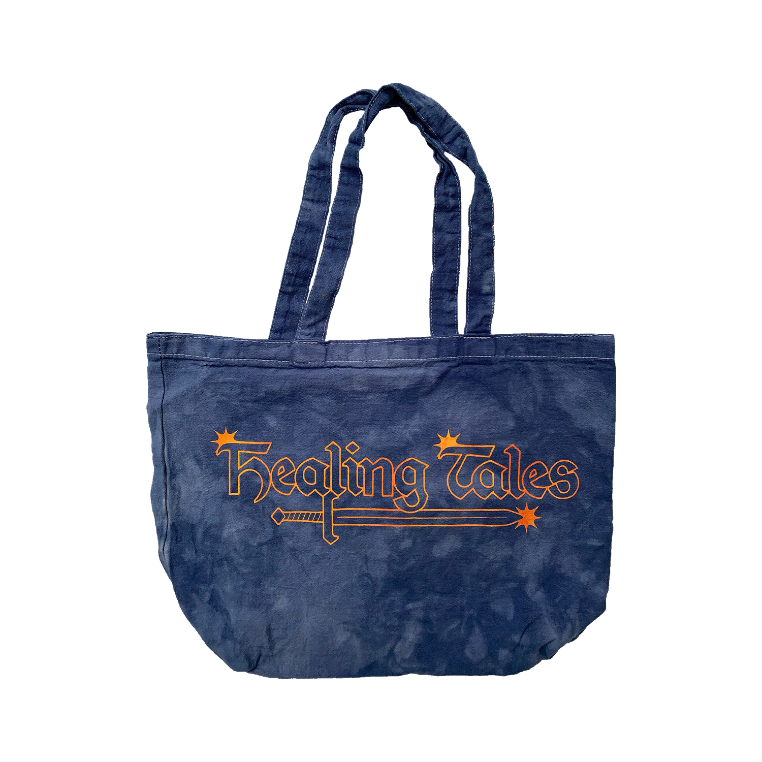 Star Logo Tote Bag - Washed Blue