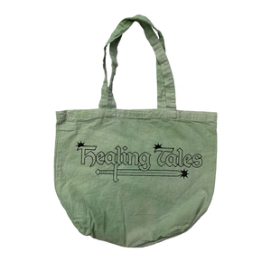 Star Logo Tote Bag - Washed Green