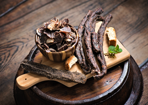 Gourmet Beef Biltong, Cured & Air Dried Protein Snacks