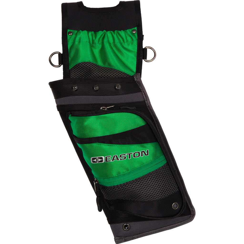 Easton Deluxe Field Quiver With Belt Green Rh