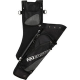 Easton Deluxe Takedown Hip Quiver With Belt Black Rh