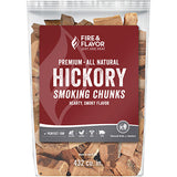 Fire And Flavor Wood Chunks Hickory 4 Lbs.