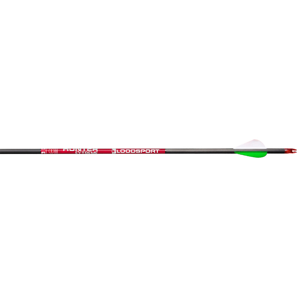 Bloodsport Hunter Extreme Arrows 350 2in. Vane 6 Pk.