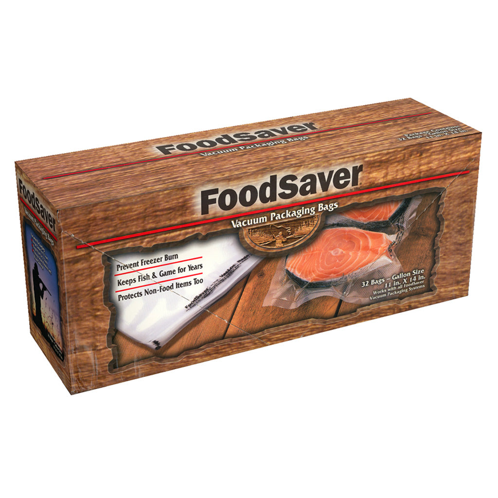 Foodsaver Gamesaver Bags Gallon 28 Pk.
