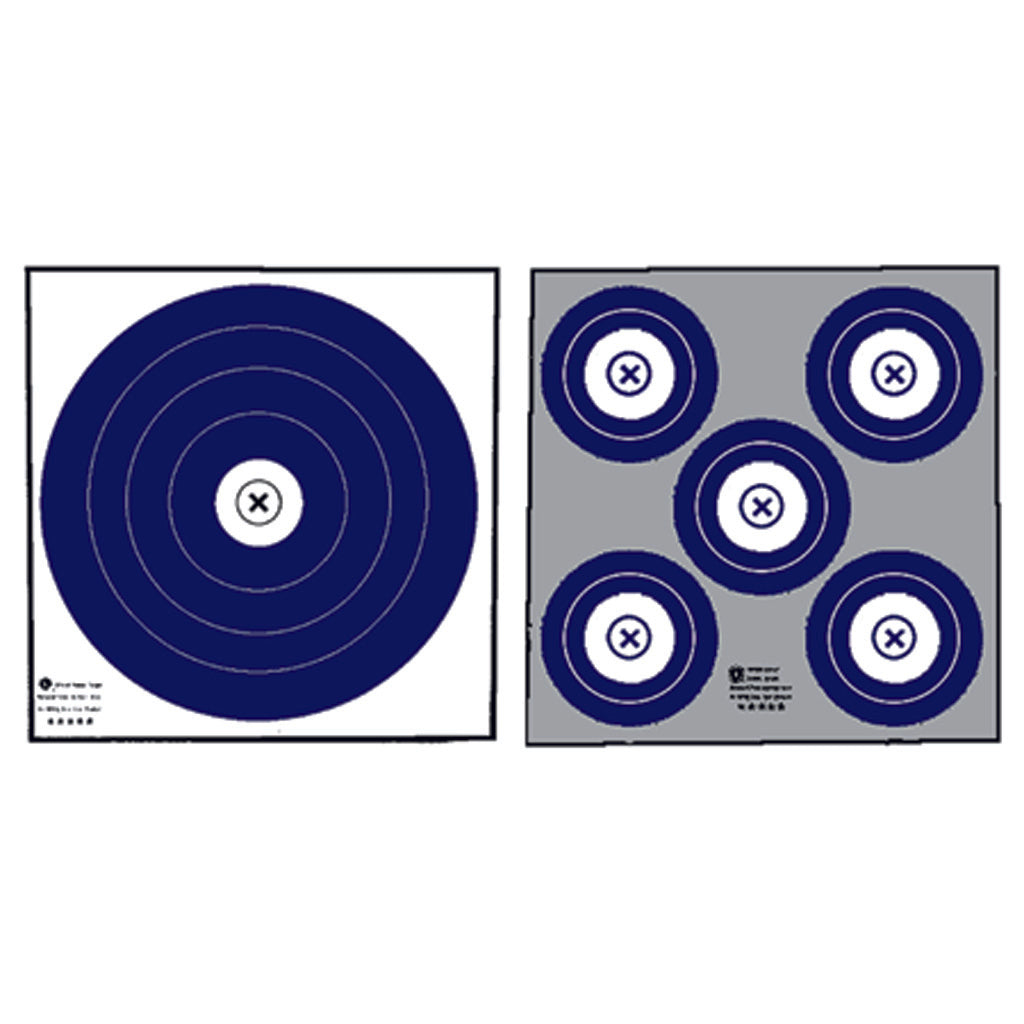 Maple Leaf Double Sided Target Indoor 100 Pk. - Outlook Gear
