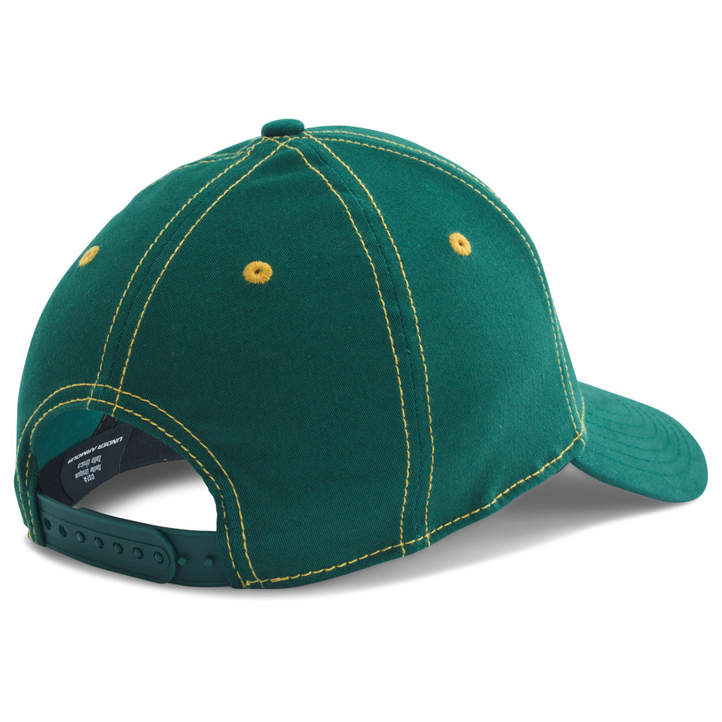 Ua Antler Patch Cap Pine Green