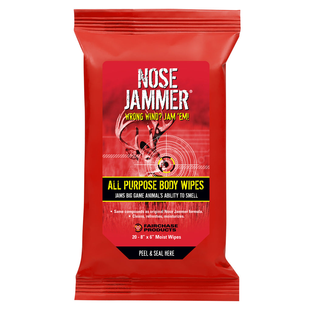 Nose Jammer Body Wipes 20 Pk. - Outlook Gear