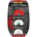 Zink Triple Pak Diaphragm Turkey Calls 3 Pk.