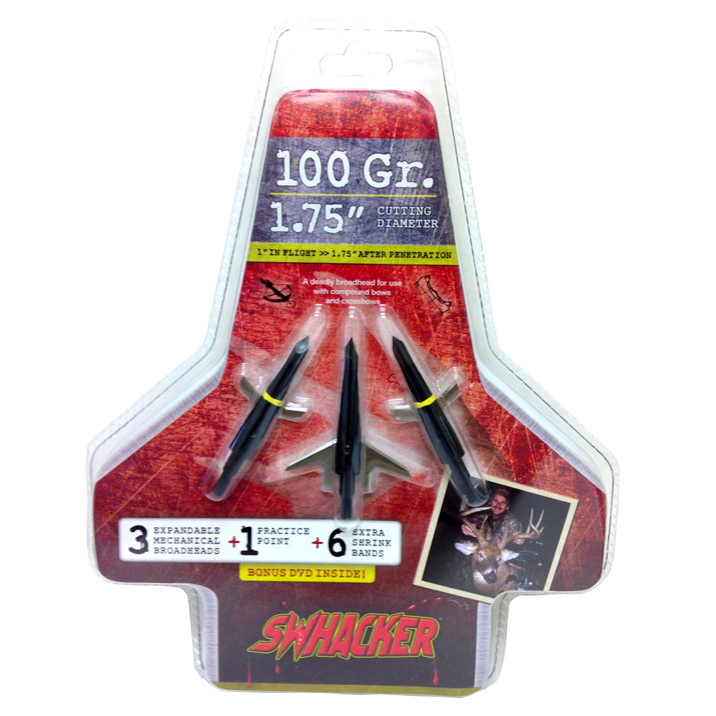 Swhacker 2 Blade Broadhead 100 Gr. 1.75 In. 3 Pk.