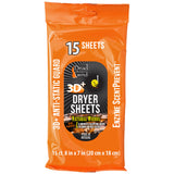 Dead Down Wind Dryer Sheets Natural Woods 15 Pk.