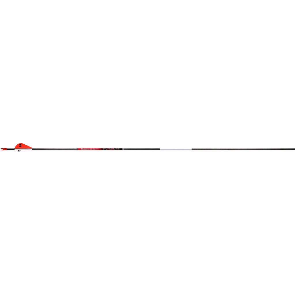 Bloodsport Evidence Arrows 350 2 In. Vane 6 Pk.