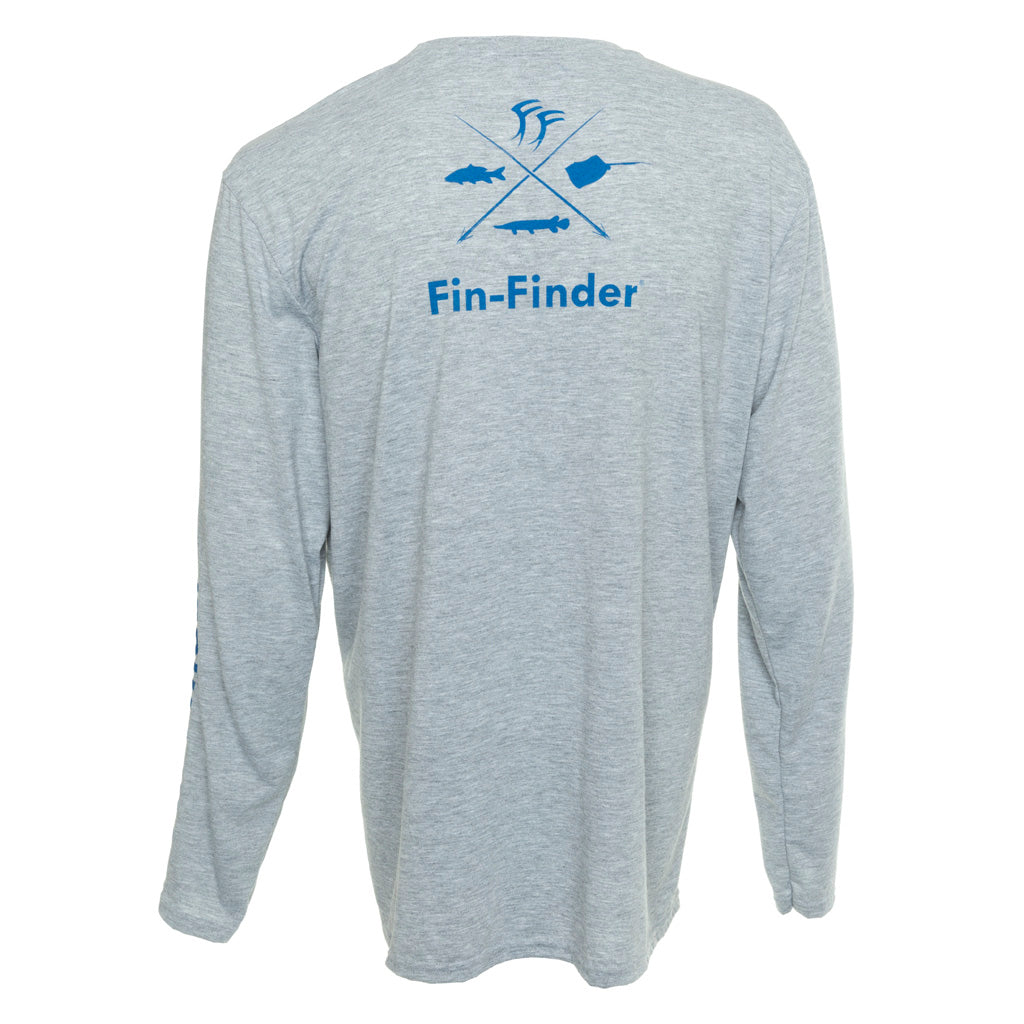 Fin-finder Time To Strike Long Sleeve Performance Shirt Medium