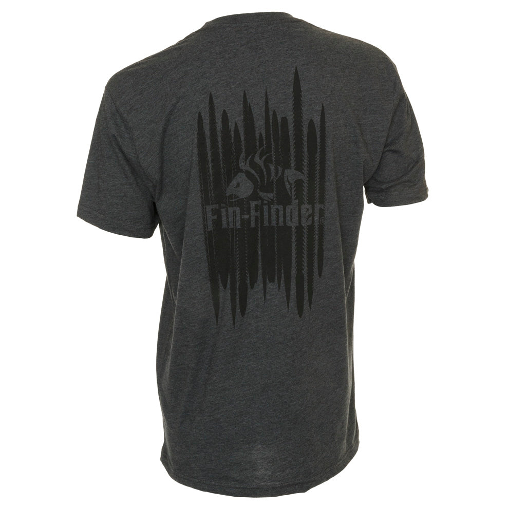 Fin Finder The Barb Tee Charcoal X-large