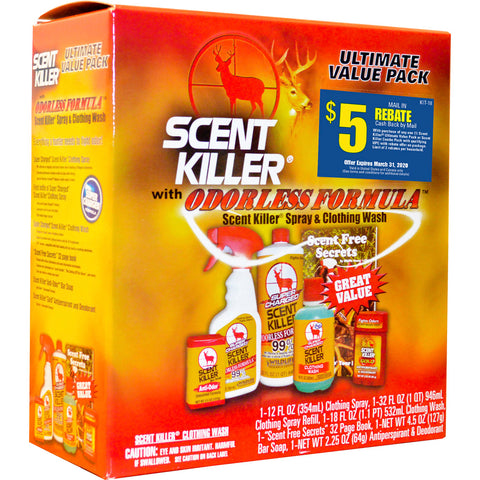 Wildlife Research Scent Killer Super Charged Kit