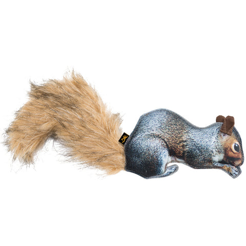 Browning Squirrel Fabric Chew Toy