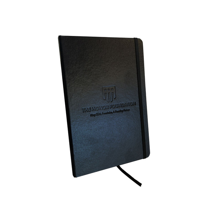 THF Embossed Leather Notebook