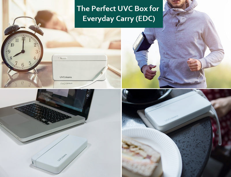 UVCcleans Mask Box: World's First UVC Mask Sterilizer - UVCcleans