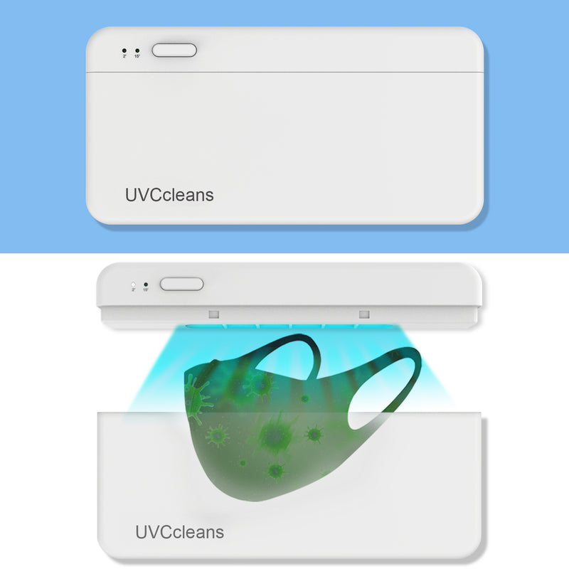 UVCCLEANS UV Mask Box UVC Sterilizer