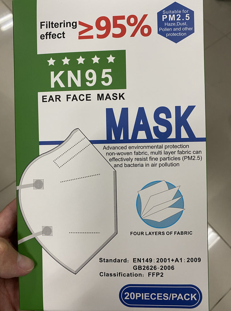 Daily Use KN 95 Face Mask Premium Quality Effective Protection - UVCcleans