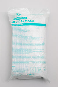 3-ply Disposable Face Mask (50 count)