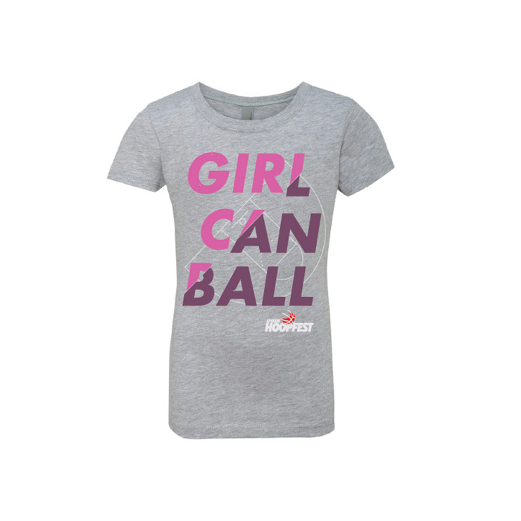 Girl Can Ball Tee