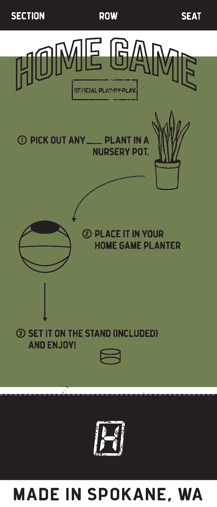 KD Nike Mini-Basketball Planter