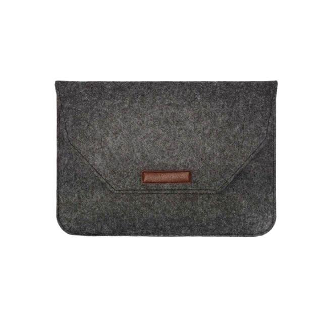 Luxury Wool Felt Laptop Sleeve - On-TechAccessory