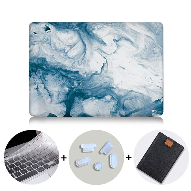 Blue Luxury Marble - On-TechAccessory