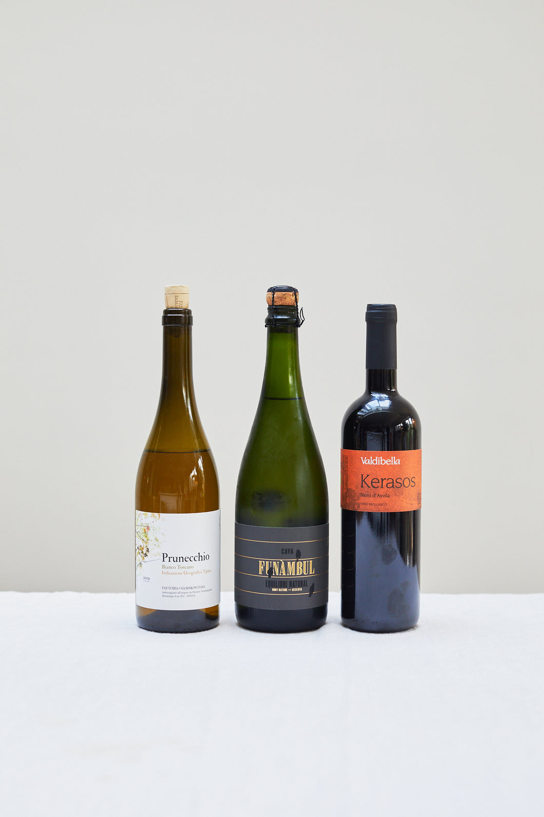 Natural Wine Selection, x3 Bottles