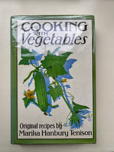 Cooking with Vegetables, Marika Hanbury Tenison, 1980
